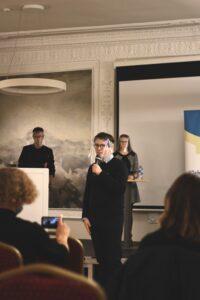 Tarptautinių jaunimo debatų alumnų asociacijos tarybos narys Povilas Gembickis